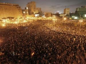 صورة لميدان التحرير في قلب القاهرة - مصر